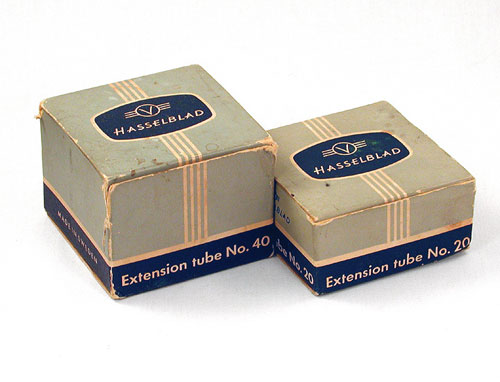 Type Two boxes for extension tubes 20 and 40