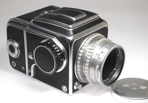 Series One camera with black wind knob